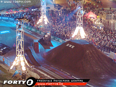Air & Style Games 2005 - fmx track