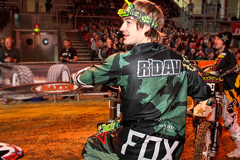David Rinaldo dominated the 1st and 2nd Round of the NIGHT of the JUMPs in Linz/Austria
