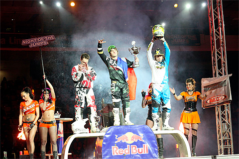 The winners of the NIGHT of the JUMPs in Linz/Austria