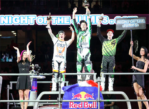 The winners of the NIGHT of the JUMPs in Mannheim 2012