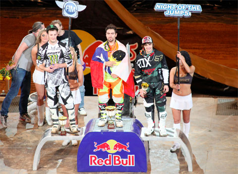 Winners of NIGHT of the JUMPS in Riga 2012
