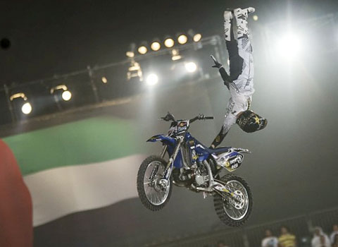 Rob Adelberg - X Fighters Dubai