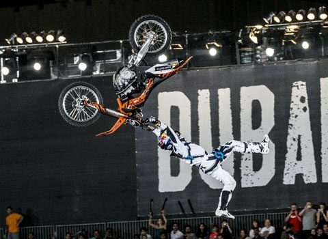 Mat Rebeaud - X Fighters Dubai