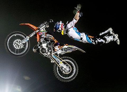 Levi Sherwood - X Fighters Dubai