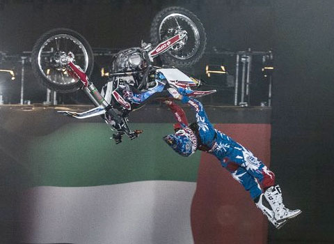 Dany Torres - X Fighters Dubai
