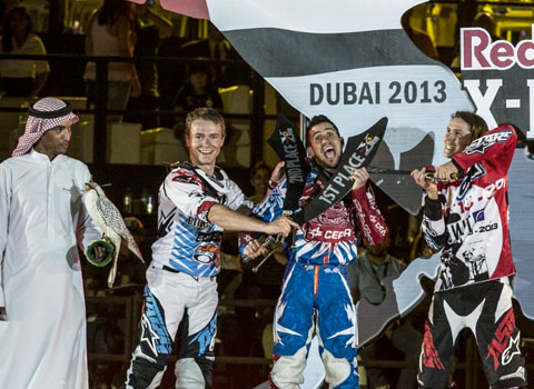 X Fighters Dubai - The winners