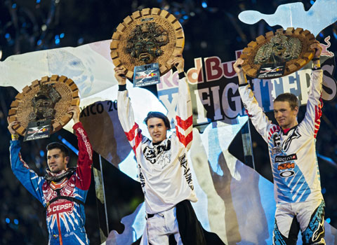Winners Red Bull X fighters Mexico