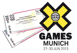 Win 5x2 tickets for the X Games in Munich