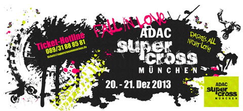 Win ADAC Supercross Munich tickets