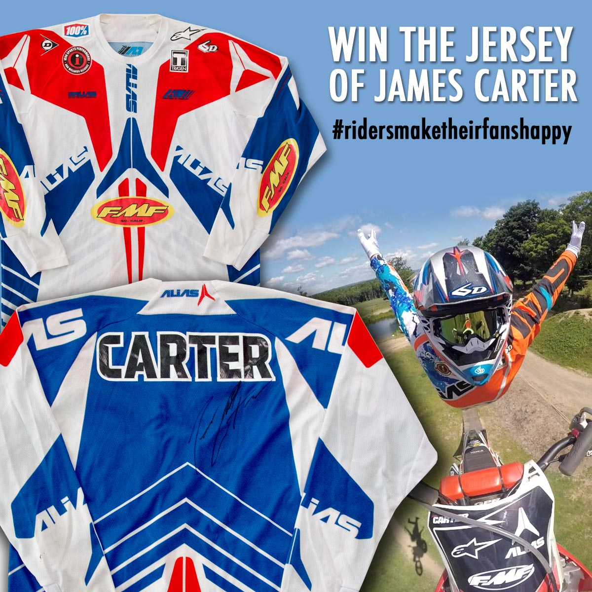 click here to view a large image of James Carters Gear