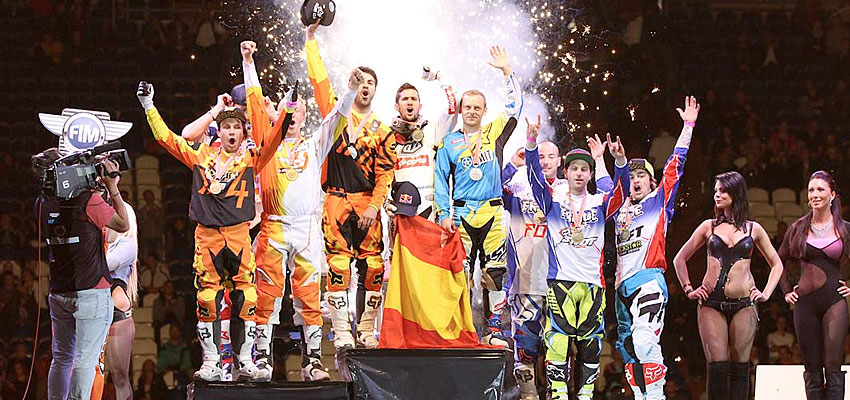 SPAIN WINS THE FREESTYLE OF NATIONS