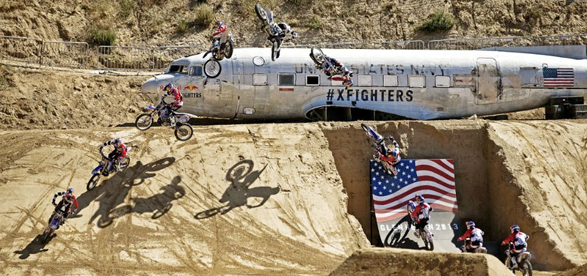 Picture Gallery: X Fighters Glen Helen