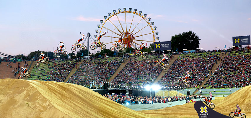 WIN TICKETS FOR THE X GAMES MUNICH