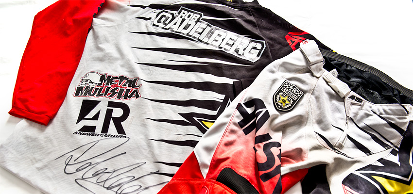 Win the signed GEAR of Rob Adelberg