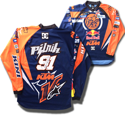 Win the signed jersey of Petr Pilat
